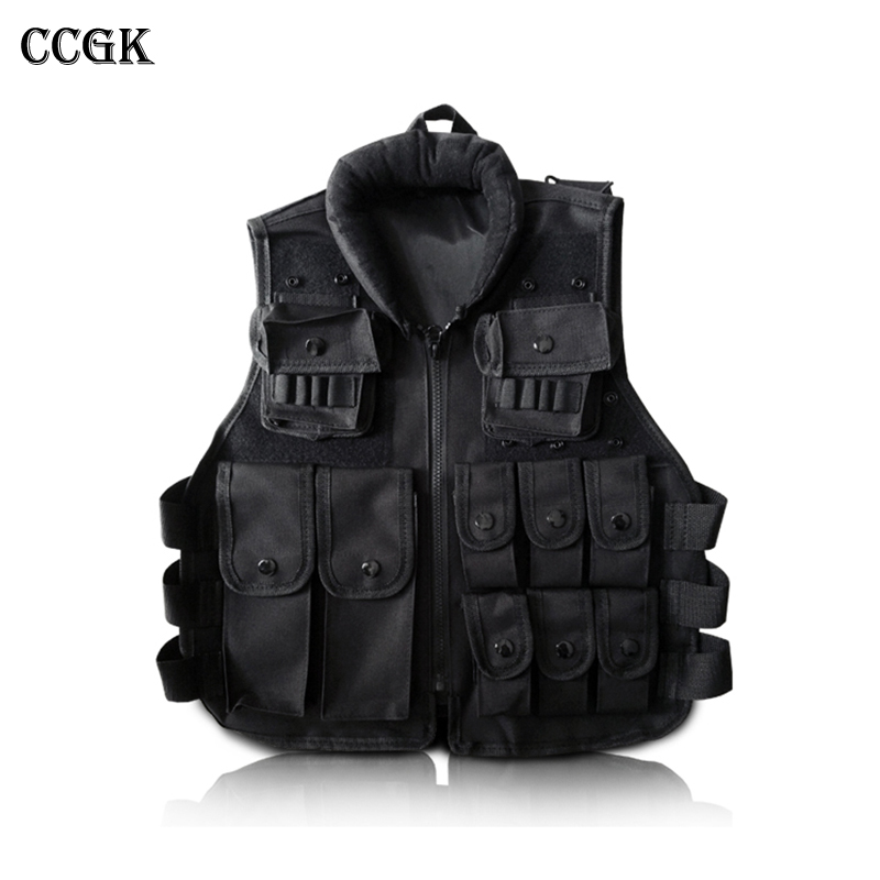 Tactical vest Black Kid's Tactical Vest For Outdoor Game Training Scouting Cosplay Protective Equipment Children Vests Clothing fire maple sw28888 outdoor tactical motorcycling wild game abs helmet khaki