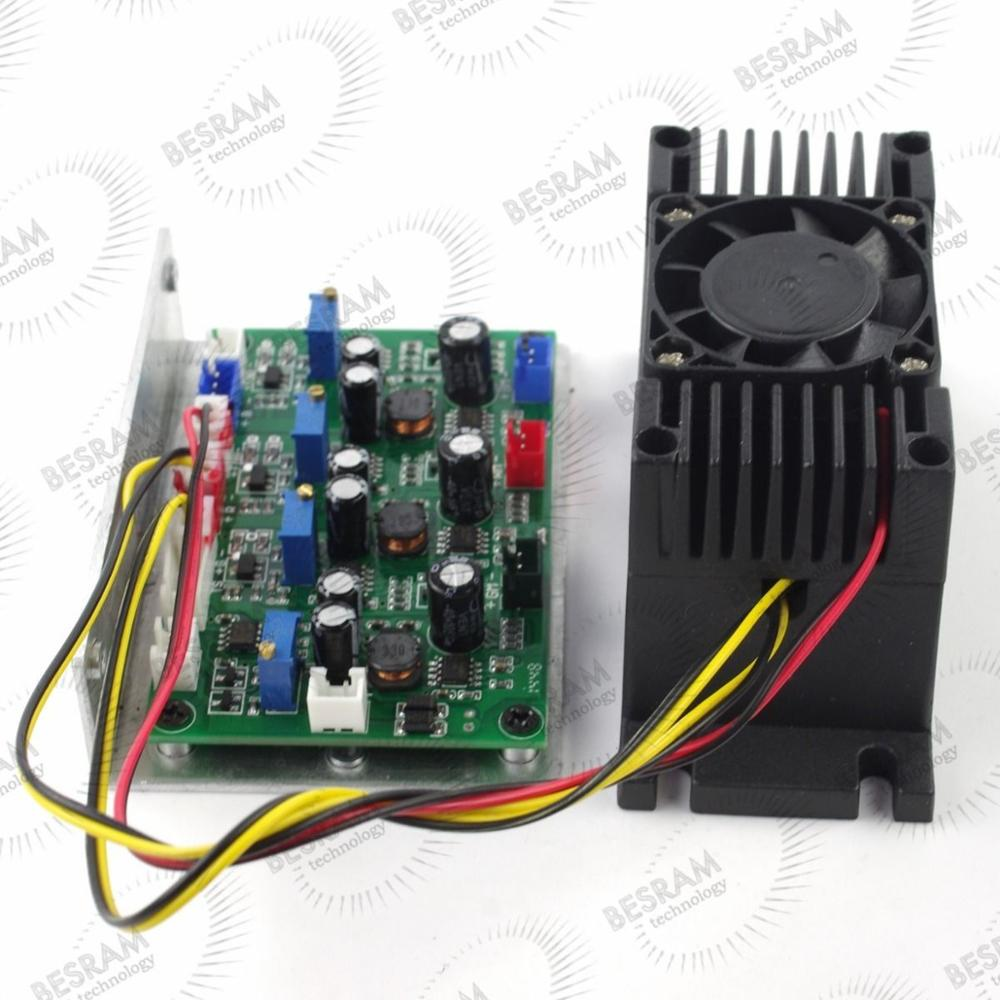 Laserland Focusable 300mW 650nm 660nm Red Dot Laser Diode Module TTL Analog Modulation for option