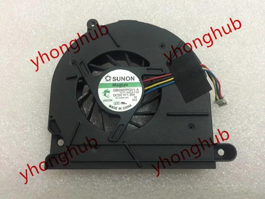 SUNON GB0507PGV1-A 13.V1.B3229.F.GN DC 5V 1.8W Сервер нагнятальных вентылятар