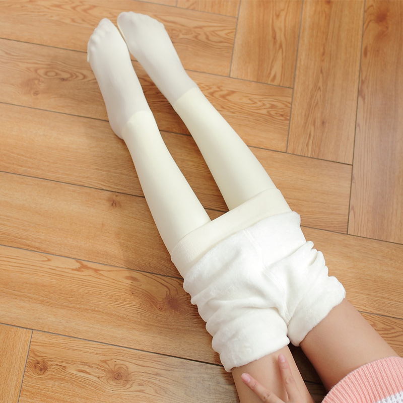 NEW Winter Women Tights Keep Warm Female Silk Stockings White Woman Pantyhose Stockings Collant Nylon Tights Women Hosiery