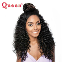 Queen Hair Products Deep Wave Brazilian Hair 1 Bundle Remy Human Hair Extensions 10 28Inch