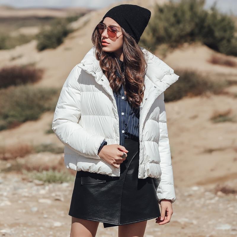 Solide Épais Manteau Canard De Blanc Casual Dy03 Tondynas Duvet Femmes ZwqCxEp