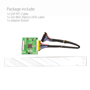 Image 5 - RSDS_S4_V3.0 55P 0.5 FFC LVDS Turn RSDS Signal Transform Adapter Board Conversion Card for A220Z5 CLAA220WA02 ZB A190A8