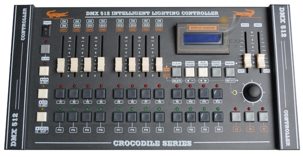 CROCODILE 2416 Console stage lighting dmx rgb led programming console dmx 512 computer lighting controller