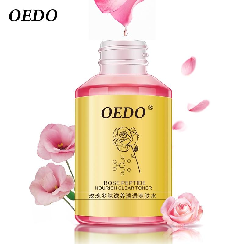 OEDO Rose Peptide Nourish Clear Toner Skin Care Whitening Moisturizing Acne Treatment Black Head Anti Wrinkle Ageless 100ml