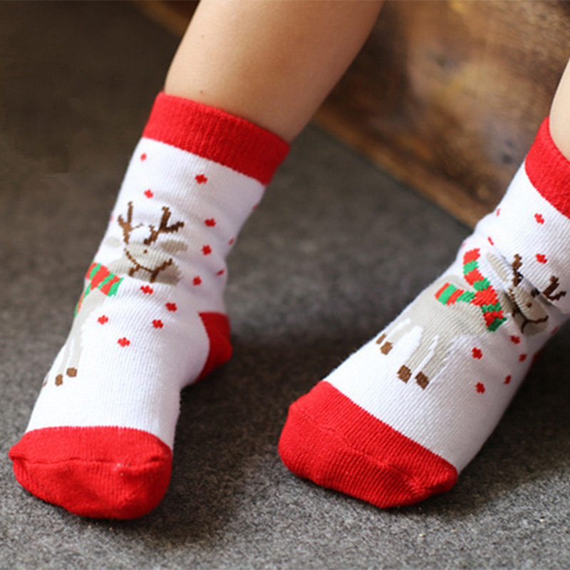 Baby Socks Christmas Winter Kids Baby Girl Children Socks Toddler ...