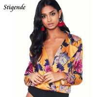 Stigende Blazer Feminino Plus Size Casual Floral Print Women Blazers And Jackets Long Sleeve Top Boho
