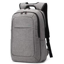 2016 New Designed Men's Backpacks Bolsa Mochila Black Canvas Bacpack for 15.6 Inch Notebook Bags Men Backpack School Rucksack