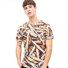 Mens Hip Hop 3D T Shirt Pen Printed Spring Summer Tees Short Sleeve Casual O Neck Creative Fashion Silm Fit Man Tops Tees Shirt