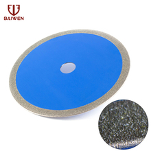 цена на Free shipping  250mm diamond saw blade 4 inch for cutting porcelain and ceramic tile cutting blade