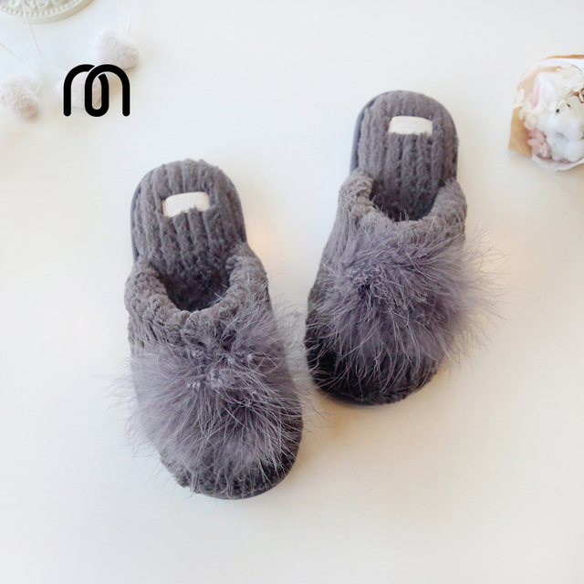 422bf60d86a8d Millffy superstar women shoes fluffy slippers winter indoor casual slippers  for women soft fur fancy slippers