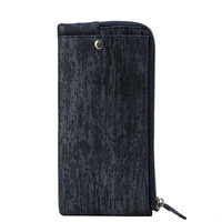 Fashionable New First Layer Of Leather Men And Women Wallet Long Cell Phone Cross Section Square
