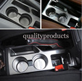 4pcs Inner Accessories Center Console Cup Holder Panel Molding Trim Cover for Jeep Compass Patriot 2011-2015 car-styling