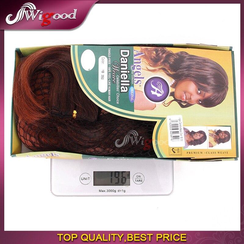 3pcs Angels Daniella Synthetic Hair Extensions Premium Classic Wave