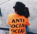 Anti Social Social Club X Undefeated T Shirts Men Women T-Shirts Hip Hop ASSC Short Sleeve Undefeated fashion thrasher Top Tee