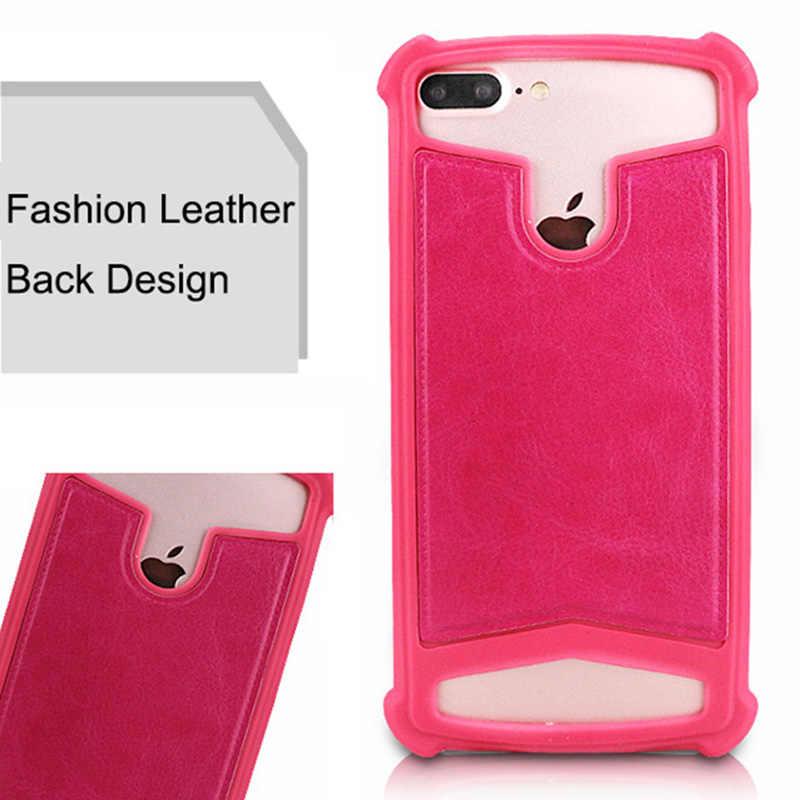 غطاء من السيليكون ل Highscreen سهلة XL الموالية للصدمات المطاط الجلد عودة غطاء جلد جراب هاتف ل Highscreen الطاقة خمسة ماكس 2