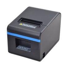 Alta qualidade 80mm recibo térmico bill impressoras cozinha restaurante pos impressora com função cortador automático aparência elegante