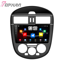 "Free Shipping 9"" Quad Core Android 4.4 Car PC Radio GPS For NISSAN Tiida 2011 With Audio Multimedia Mirror Link Without DVD"