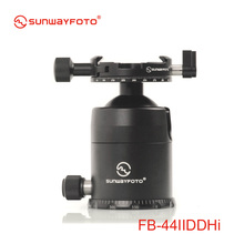 SUNWAYFOTO FB-44IIDDHi Tripod head for DSLR Camera Tripode Ballhead  Professional Aluminum Monopod Panoramic Tripod Ball Head