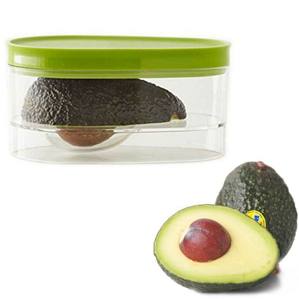 Food Storage Box Reusable Space Saving Compact Avocado Savers Plastic Fruits Containers Case Non Toxic Home Crisper Vegetable