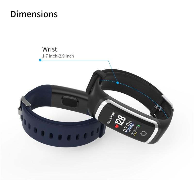 43e00ed4bf4a Lerbyee 10 unids lote Fitness Tracker M4 Monitor de ritmo cardíaco pulsera  inteligente impermeable de Bluetooth llamada de recordatorio deporte para  iOS ...