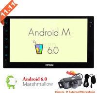 No Traço Touchscreen Quad-Core GPS Sat Nav Suporte Wifi Bluetooth/RDS/SD/USB/OBD2 /Mirrorlink 7 polegada Android Quad Core Unidade Central