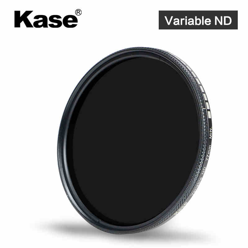 kase 49 58 62 67 72 77 82 mm ND2-400 mold-proof waterproof 8HD fader ND lens filter tunable variable neutral density for camera