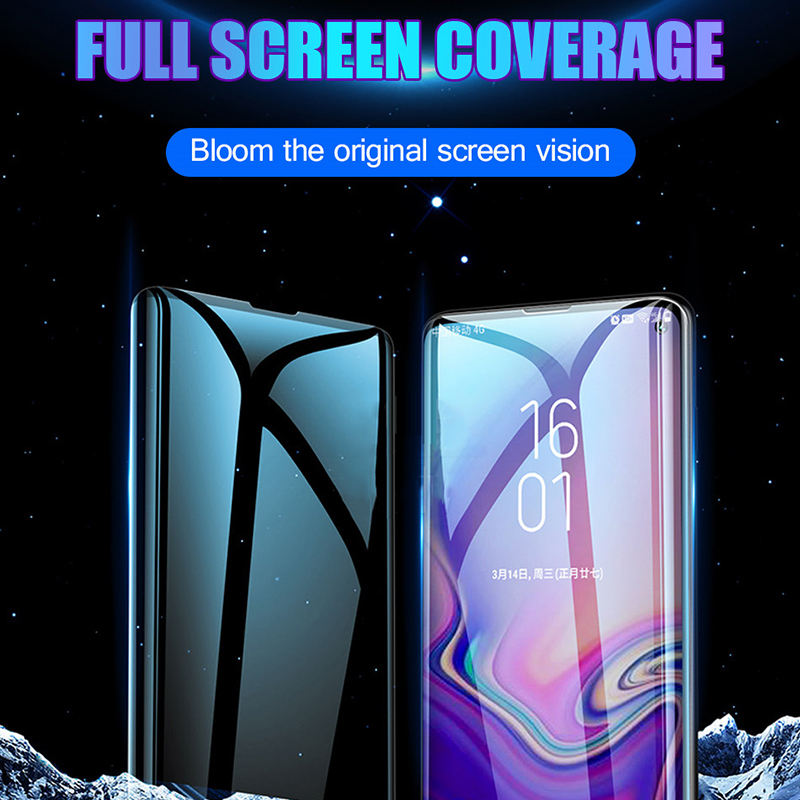 Fingerprint Unlock Tempered Glass For Samsung Galaxy S10 Plus Protective Glass Screen Protector For Samsung S8 S9 Note 8 9 10 in Phone Screen Protectors from Cellphones Telecommunications