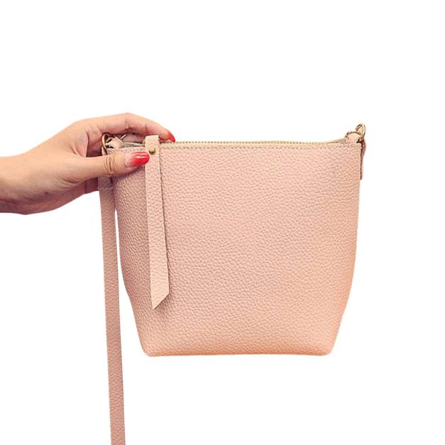 Best Selling Women Solid Zipper Small Pu Leather Crossbody Bags Female  Fashion Shoulder Bag Ladies Elegant Messenger Bag Dec7-in Shoulder Bags  from Luggage ... 454b34b5a7