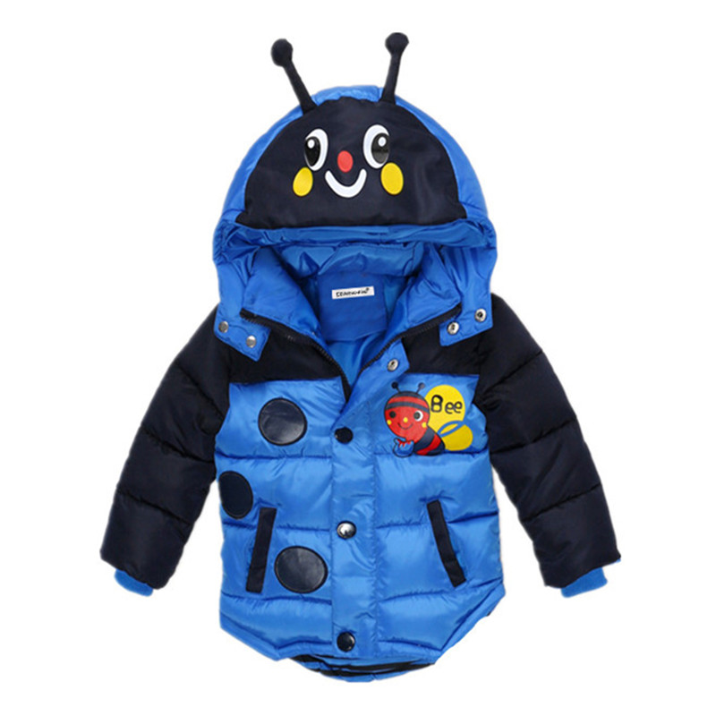 Baby Boys Jacket 2018 Autumn Winter Jacket For Boy Coat Infant Kids Warm Outerwear Coat For Boy Children Clothes 2 3 4 5 Year цена