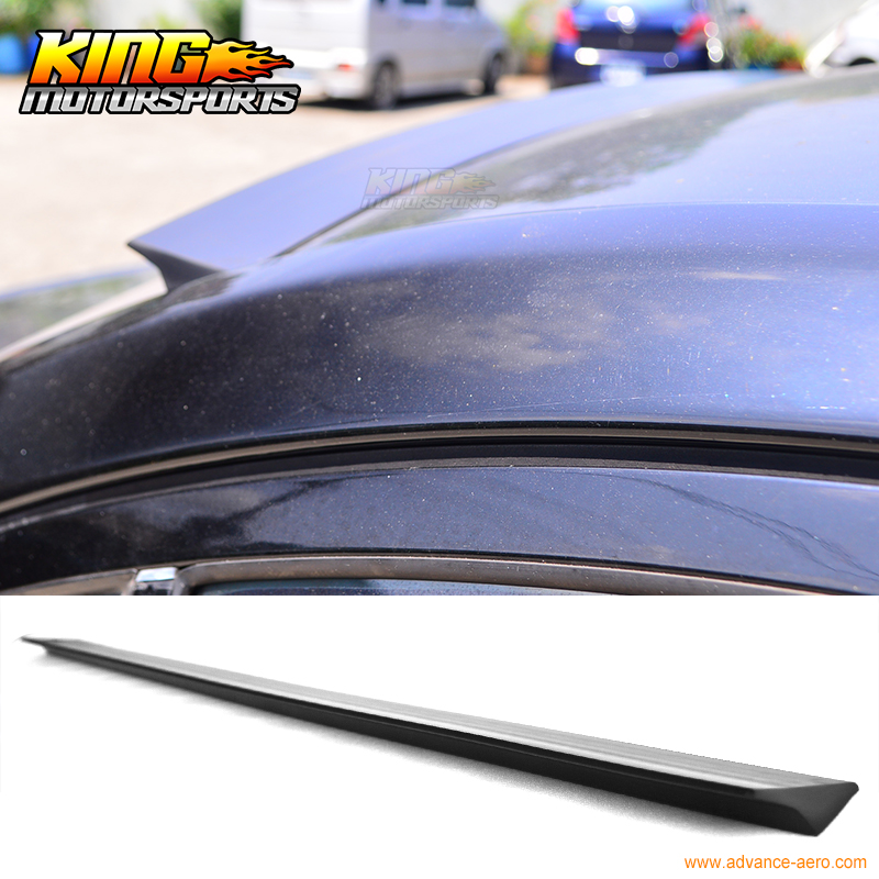 For 2009-2013 10 11 12 Nissan 370Z Z34 2DR VRS Style Roof Spoiler Wing Unpainted - PUF for 09 10 11 mazda 6 2nd vrs style roof spoiler wing unpainted puf