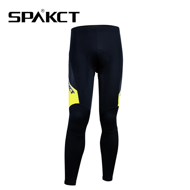 Spakct Men/'s Bike Suits Long Sleeve Jersey /& Tights Pants Black Yellow Phantom