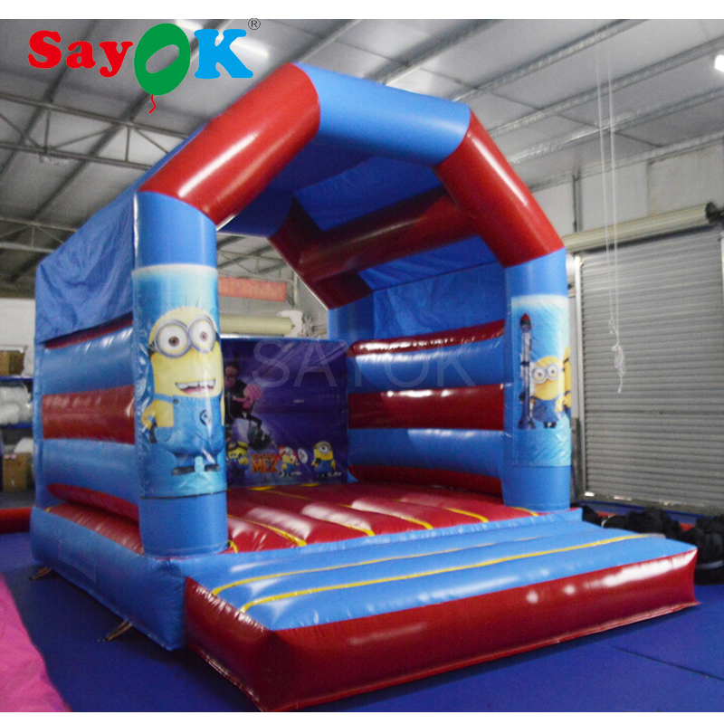 2018 Despicable me minion inflatable air bouncer inflatable trampoline inflatable jumper bouncy house for kids