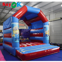 2018 Inflatable air bouncer inflatable trampoline inflatable jumper bouncy house for kids