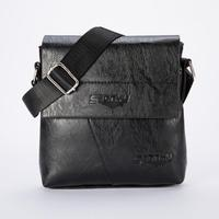 Men Handbags Tote Chest Bag Purse Bolsa Zipper Flap Small Business Shoulder Messenger Crossbody Fashion Handbag