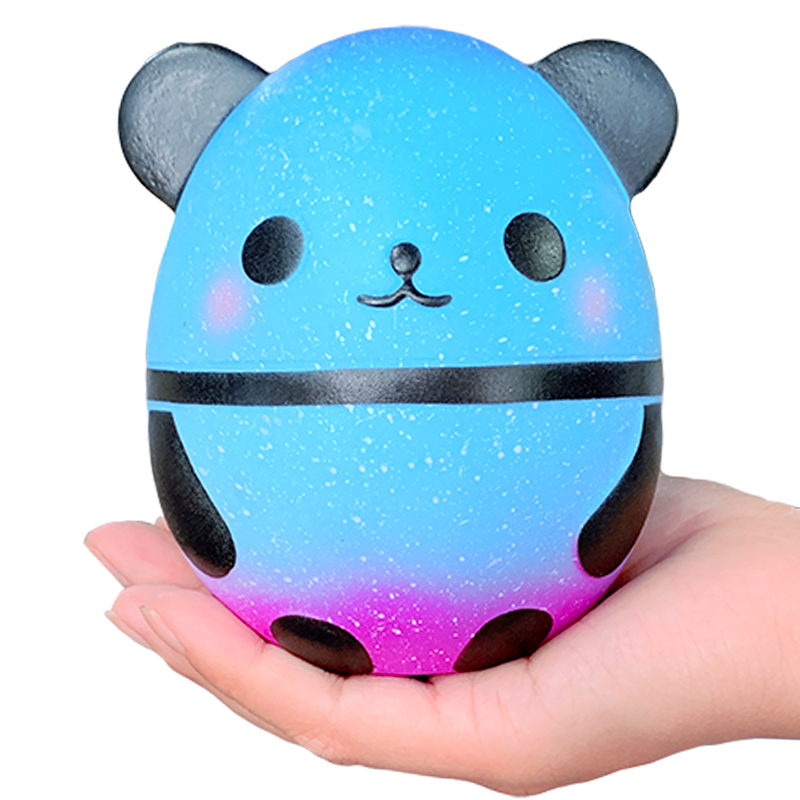 Купить с кэшбэком New Jumbo Kawaii Panda Squishy Slow Rising Creative Animal Doll Soft Squeeze Toy Bread Scent Stress Relief Fun for Kid Xmas Gift