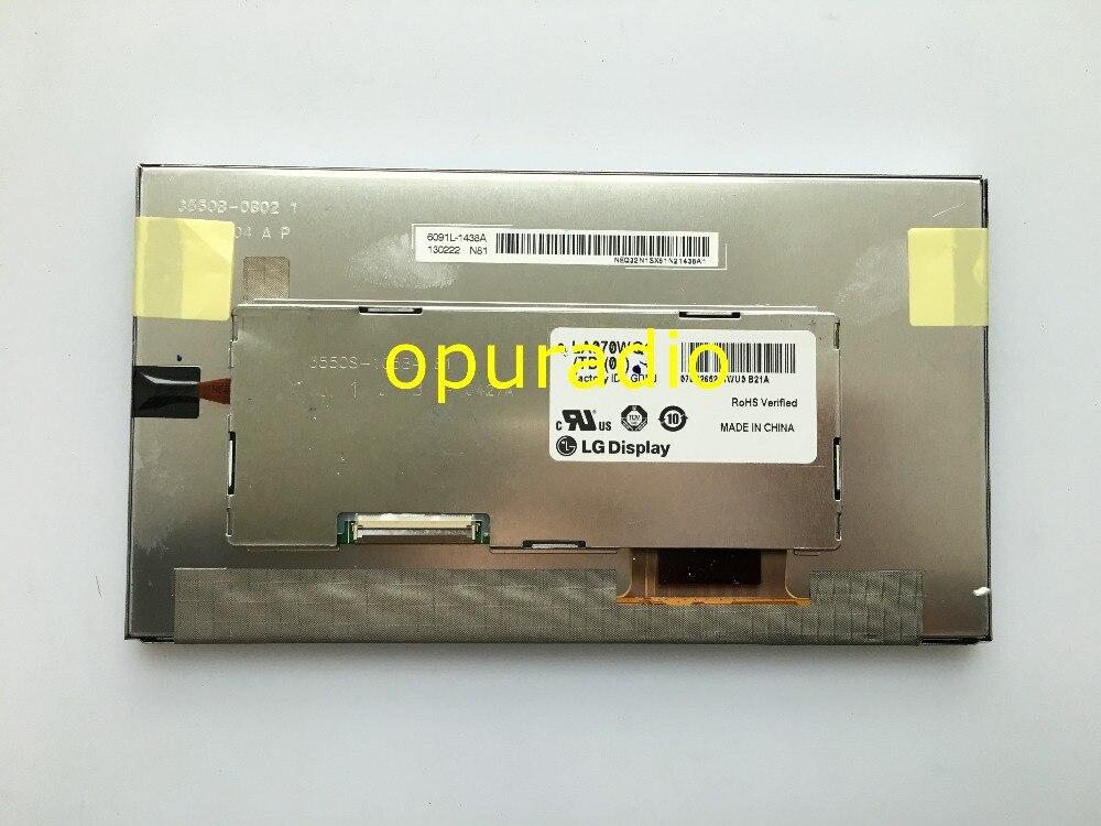 Original nouveau L.G 7 pouces LCD affichage LA070WQ1 TD01 LA070WQ1 écran pour Opel 2012 approche 600 navi audio LCD moniteur-in Écrans from Electronique    1