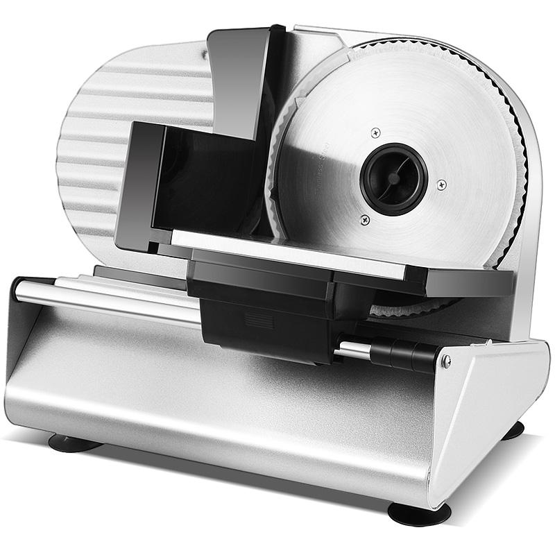 Electric Stainless Steel Auto Meat Slicer Machine Grinder Household/Commercial Frozen Meat Cutting Machine Toast Slicer Chopping beijamei stainless steel small home blade meat slicer mincer electric commercial meat grinder cutting machine