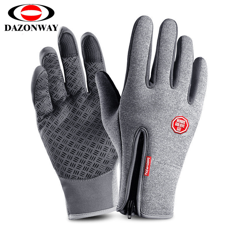 Unisex Winter Running Gloves Men Women Sports Touchscreen Windproof Thermal Fleece Glove Jogging Hiking Cycling Ski Bicycle S~XL