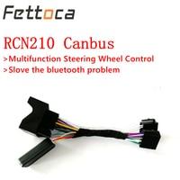 Upgrade RCD320 RCN210 Bluetooth Car Radio Multifunction Steering Wheel Button Control Canbus gateway Simulator Adapter