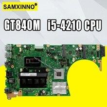 Отправка платы + S551LN материнская плата для ноутбука ASUS V551L S551L S551LB S551LN R553L материнская плата с GT840M 4 Гб оперативной памяти i5-4210 ЦП
