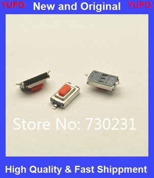 100PCS/LOT SMD 3*6*2.5 MM Tactile Tact Push Button Micro Switch Momentary Two Pin For MP3 MP4 image