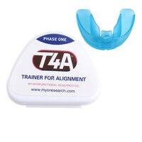מחזיקי סיגריות פלטות שיניים אורתודונטי שיני T4A מאמן מכשיר שיניים באק שיני נכונה לשמור על יופי באיכות גבוהה מאמן
