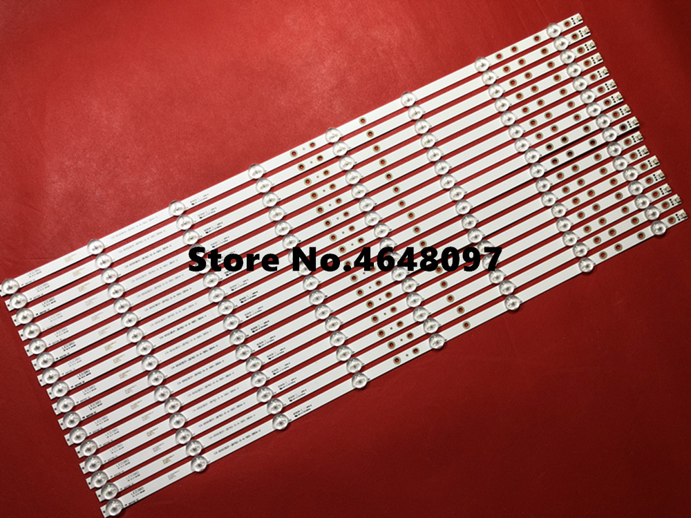 "Useful 100% New 1set=16pcs Led Backlight Strip Kit Bar Cx-65s03e01 For S O N Y 65 "" Tv Kdl-65w857c Kdl-65w859c Kdl-65w855c"
