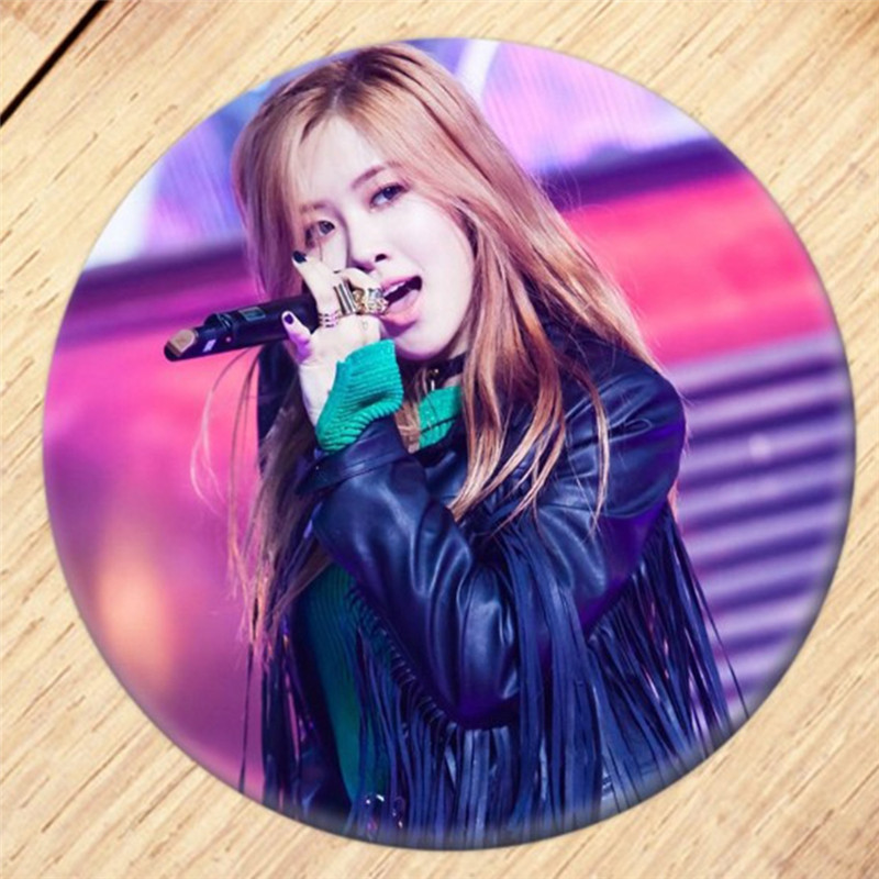 US $1 53 22% OFF|Pinksee 18 Colors Popular KPOP BLACKPINK Album Brooch Pin  Badge Accessories For Clothes Hat Backpack Decoration-in Brooches from