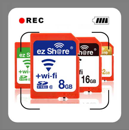 Fast Speed Original EZ Share Micro TF Card Adpater Wifi wireless 8G 16G 32G Memory Card TF Card Micro Memory Card Reader