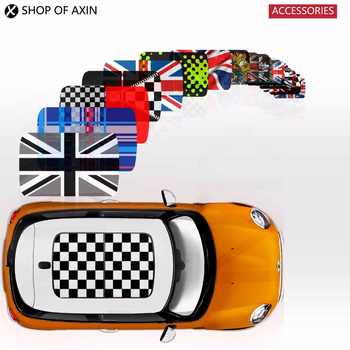 MINI style sun roof Graphics stickers Sunroof for MINI Cooper clubman countryman hardtop R50 R53 R55 R56 R60 R61 F54 F55 F56 F60 - SALE ITEM All Category