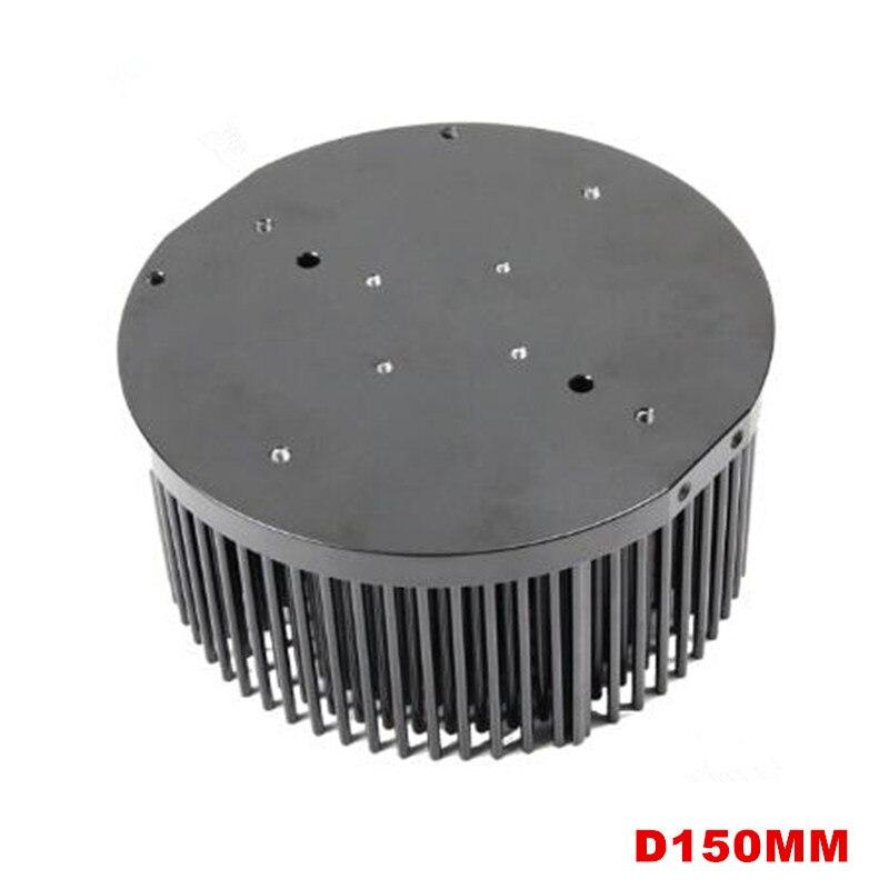 150mm aluminum Pre drilled pin fin LED heat sink for COB CREE CXB3590 Bridgelux Vero29 gen7