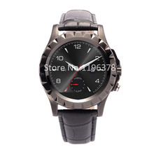 Fashion Bluetooth Smartwatch for Android Phone Fitness Equipment Heart Rate Wristwatch Touch Screen Leather Metal Band Men Lady