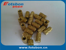 IBB-M8-4 Blind Threaded Insert ,Molded-in threaded inserts,brass,nature,PEM standard,made in China
